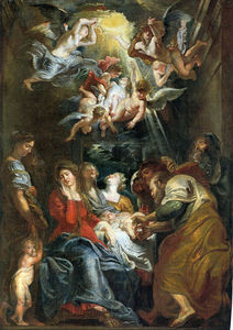 Peter Paul Rubens - The Circumcision of Christ