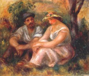 Pierre-Auguste Renoir - Seated couple