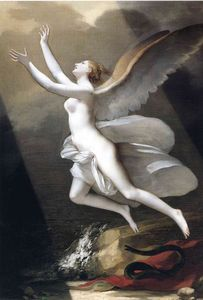 Pierre-Paul Prud'hon - The soul breaking the bonds that attach to the land