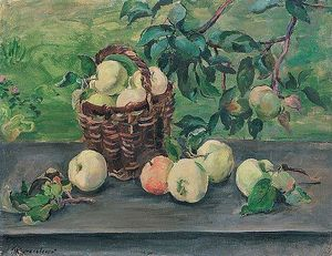 Pyotr Konchalovsky - Apples on the window