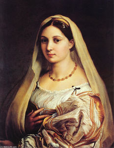Raphael (Raffaello Sanzio Da Urbino) - The Veiled Woman, or La Donna Velata