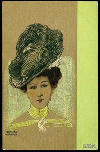 Raphael Kirchner - Portraits of Viennese Ladies