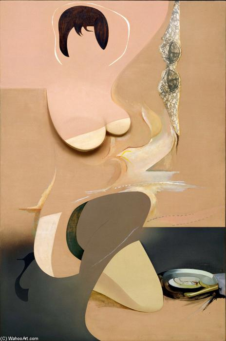 famous painting Pin-up of Richard Hamilton