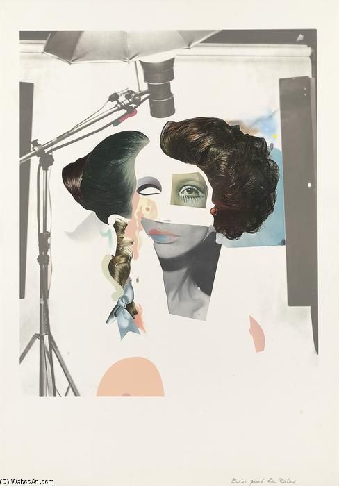 famous painting Fashion plate of Richard Hamilton
