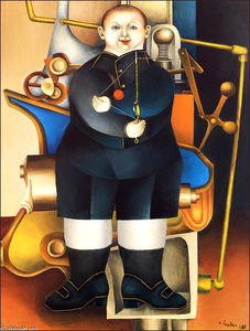 Richard Lindner - Boy And Machine