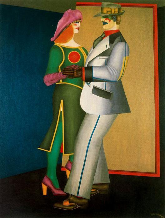famous painting Two of Richard Lindner