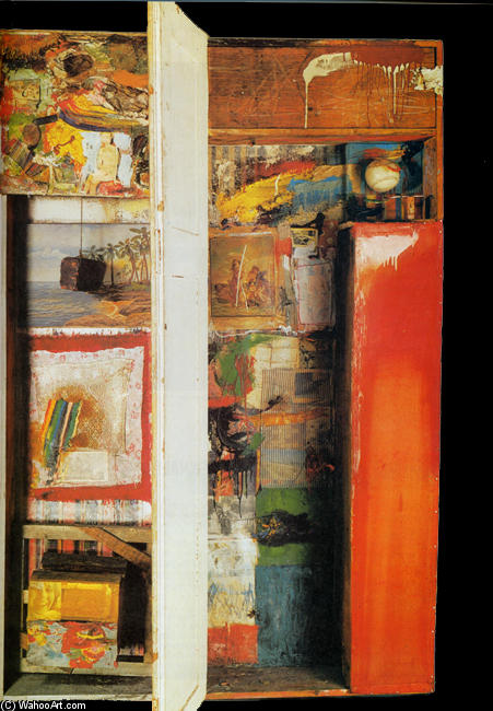 famous painting Interview of Robert Rauschenberg