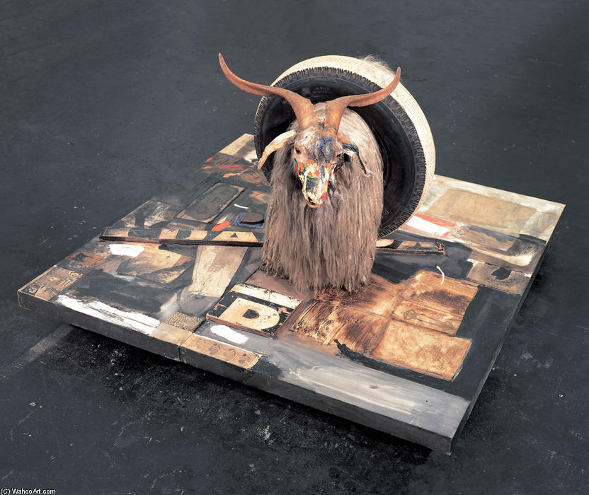 famous painting Monogram of Robert Rauschenberg