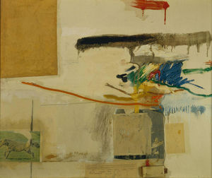 Robert Rauschenberg - Untitled (formerly titled Collage with Horse)