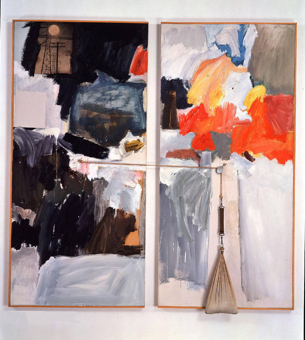 famous painting Studio Painting of Robert Rauschenberg