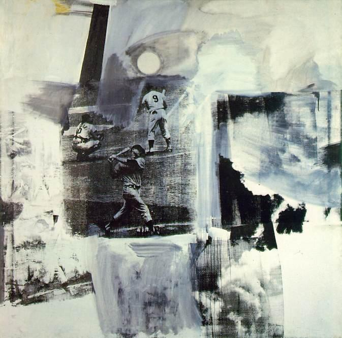 famous painting Brace of Robert Rauschenberg