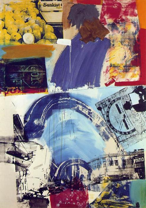 famous painting Harbor of Robert Rauschenberg
