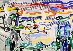 Roy Lichtenstein - Coast village