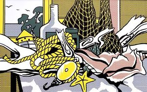 Roy Lichtenstein - Cape Cod still life
