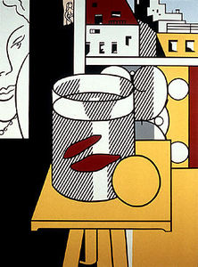 Roy Lichtenstein - Still Life with goldfish