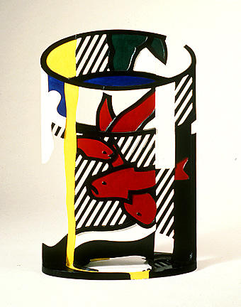 famous painting Goldfish bowl II of Roy Lichtenstein
