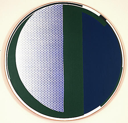 famous painting Mirror of Roy Lichtenstein