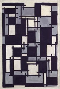Theo Van Doesburg - Composition X