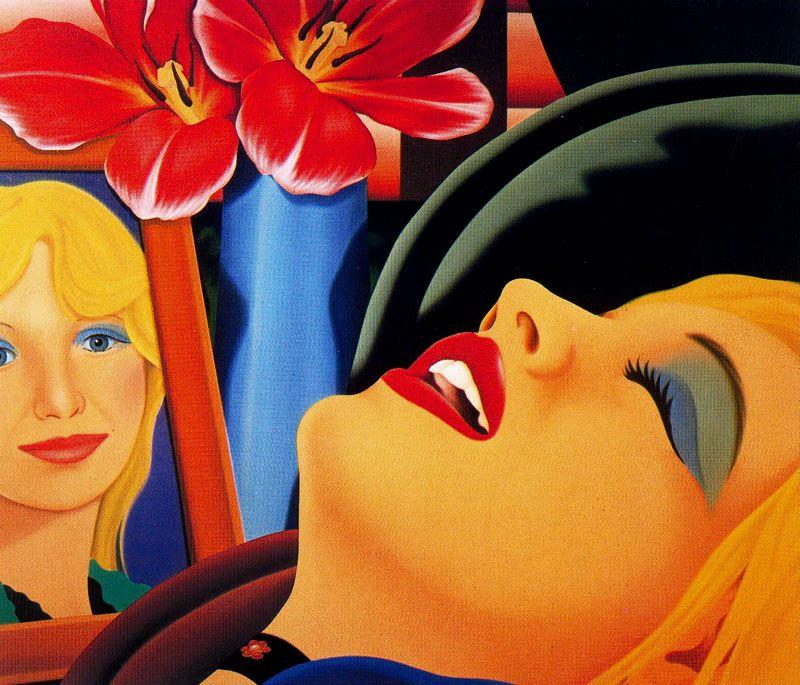 famous painting Bedroom Painting #38 of Tom Wesselmann