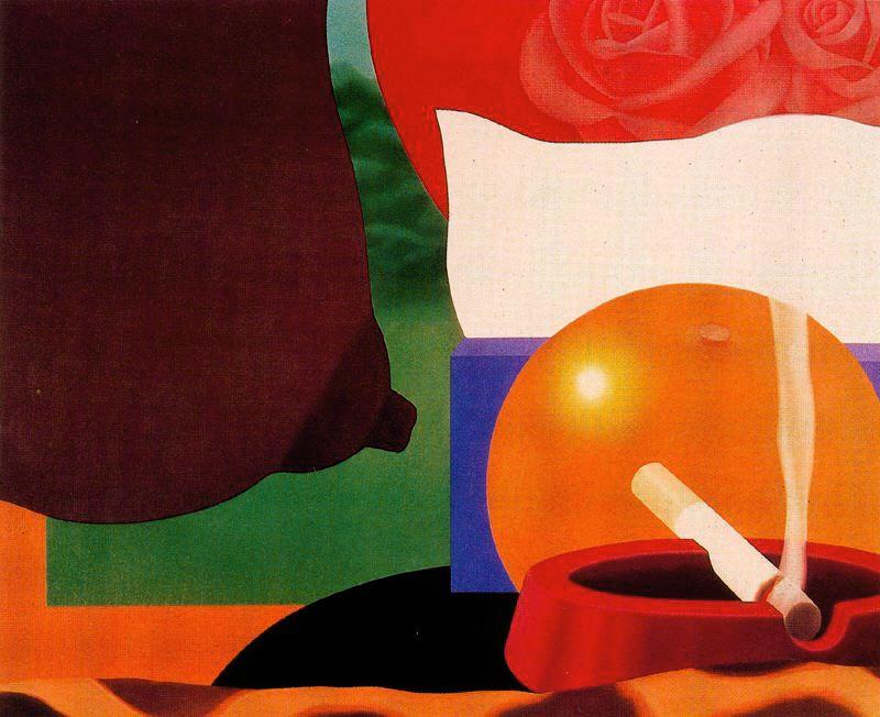 famous painting Bedroom Painting #13 of Tom Wesselmann