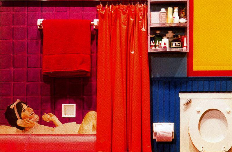 famous painting Collage bath of Tom Wesselmann