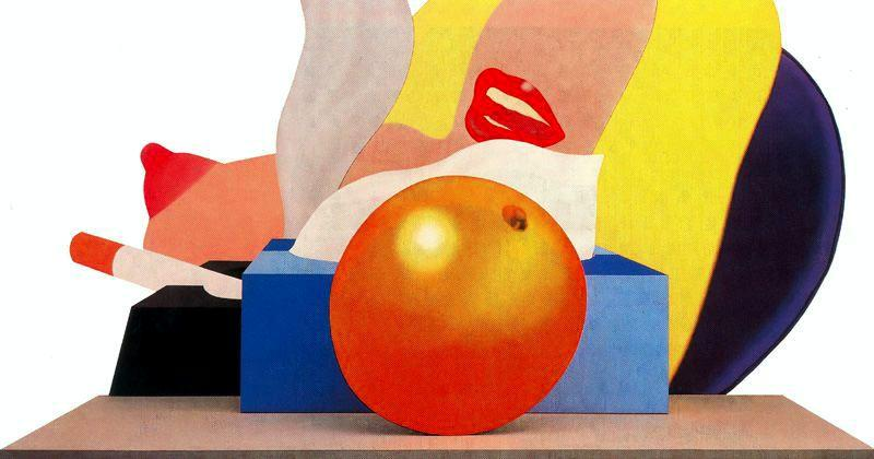 famous painting Great American Nude No.99 of Tom Wesselmann