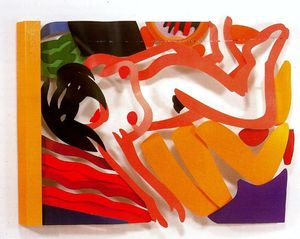 Tom Wesselmann - Nude with arm down