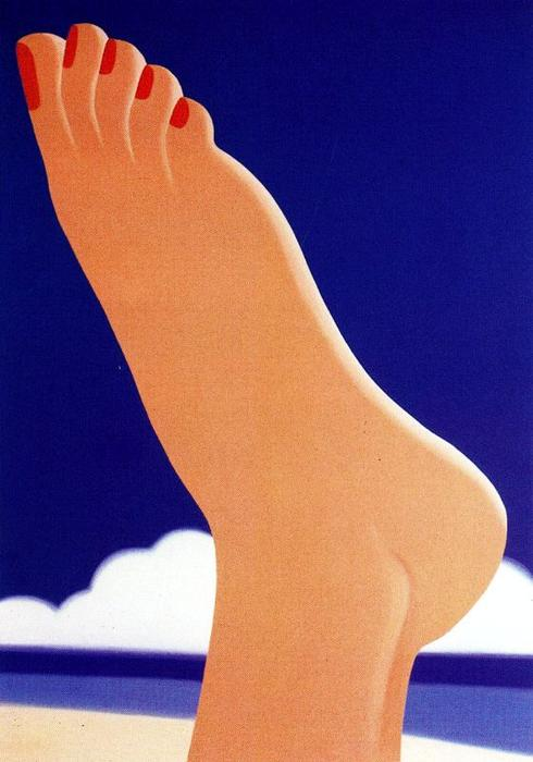 famous painting Seascape of Tom Wesselmann