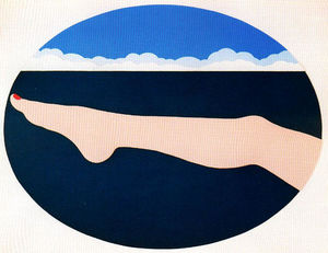 Tom Wesselmann - Seascape # 10