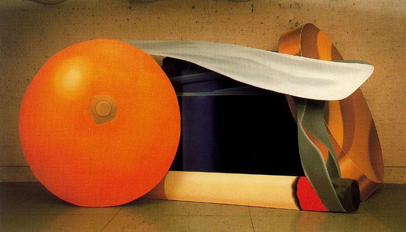 famous painting Still Life with Blue Jar and cigarette smoking of Tom Wesselmann