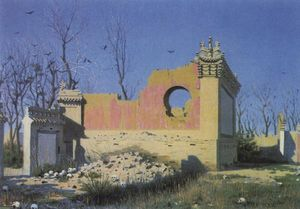 Vasily Vasilevich Vereshchagin - Ruins of a Theater in Chuguchak