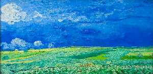 Vincent Van Gogh - Wheatfields under Thunderclouds
