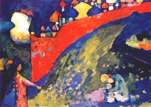 Wassily Kandinsky - Red Wall destiny