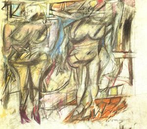 Willem De Kooning - Two Woman IV