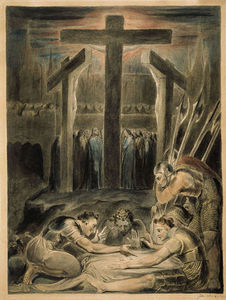 William Blake - The Soldiers Casting Lots for Christ's Garments