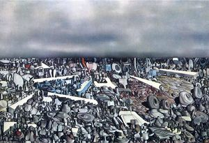Yves Tanguy - Multiplicatiion of the Arcs