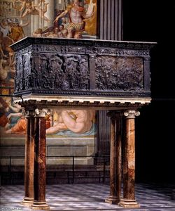 Donatello - South pulpit