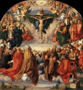 Albrecht Durer - The Adoration of the Trinity