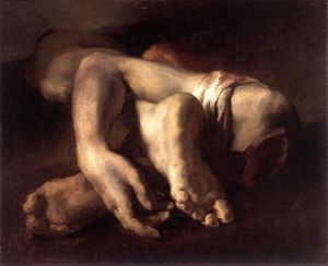 Jean-Louis André Théodore Géricault - Study of Feet and Hands