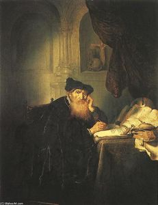 Salomon De Koninck - A Philosopher