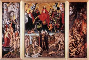 Hans Memling - Last Judgment Triptych (open)