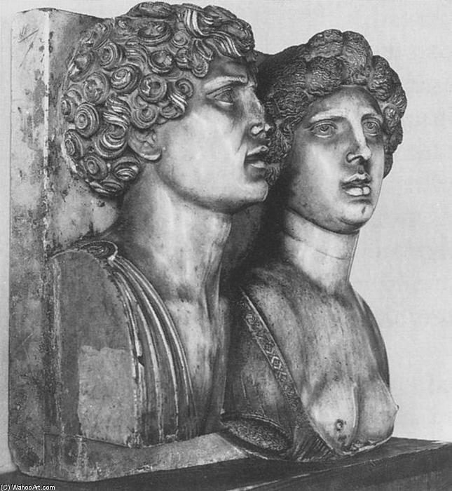 famous painting Self-portrait (?) with his Wife in Ancient Guise of Tullio Lombardo (Tullio Solari)