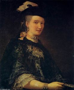 Alessandro Longhi - Portrait of a Lady