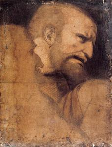 Leonardo Da Vinci - Head of St Peter