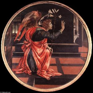 Filippino Lippi - Gabriel from the Annunciation