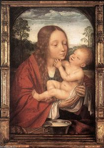 Quentin Massys - Virgin and Child in a Landscape