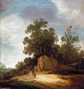 Pieter De Molyn - Pastoral Landscape with Tobias and the Angel