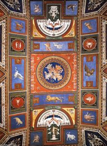 Perino Del Vaga (Piero Buonaccorsi) - Ceiling decoration