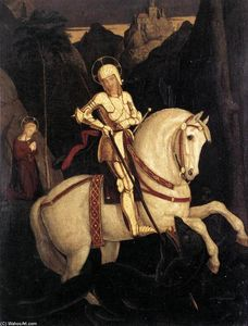 Franz Pforr - St George and the Dragon
