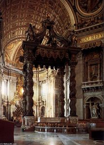 Gian Lorenzo Bernini - The Baldacchino